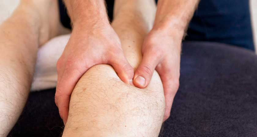 Craig Brown, CBPhysio with a client - understanding calf pain