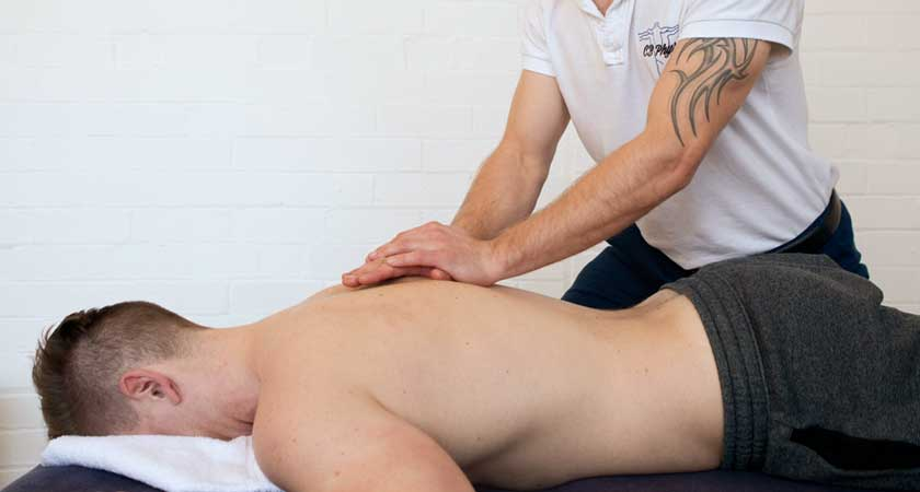 CBPhysio sports massage in Harrogate